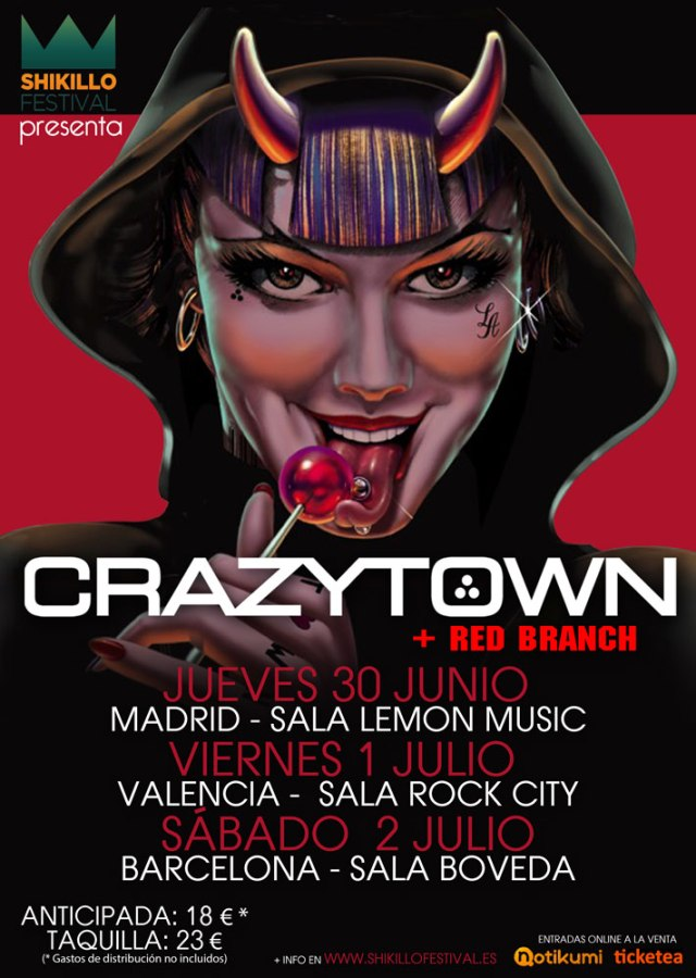 CrazyTown_A3_Tourposter